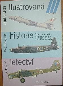 Ilustrovaná historie letectví (Iljušin Il-28; Wellington; MB-200)