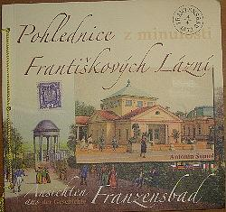 Pohlednice Františkových Lázní