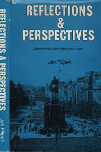 118886. Filipek, Jan – Reflections and Perspectives, Czechoslovaks after forty years in exile (podpis)