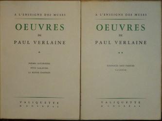 Oeuvres I.-II. (Poemes Saturniens, Fétes Galantes, La Bonne Chanson, Romances Sans Paroles, Sagesse)