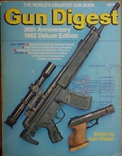 70158. Warner, Ken (ed.) – Gun Digest, The World's Greatest Gun Book, 36th Anniversary 1982 Deluxe Edition