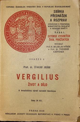 Vergilius - Život a dílo