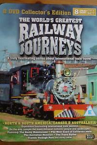 77464. The World's Greatest Railway Journeys, 8 DVD Collector's Edition (Norht & South America, Canada & Australasia)