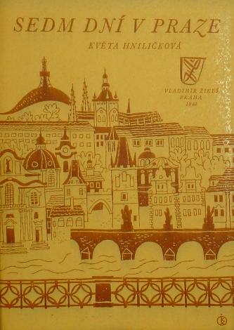 Sedm dní v Praze, Soubor patnácti původních litografií