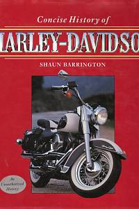89448. Barrington, Shaun – Concise History of Harley-Davidson