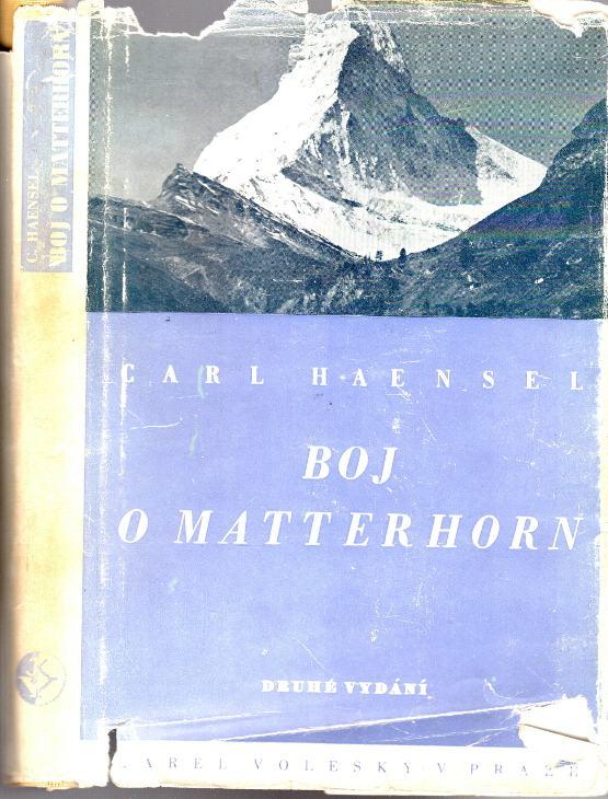 Boj o Matterhorn, Román - skutečnost