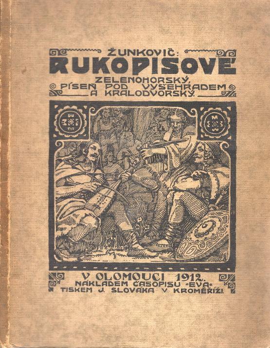 Rukopisové Zelenohorský, Píseň pod Vyšehradem a Kralodvorský