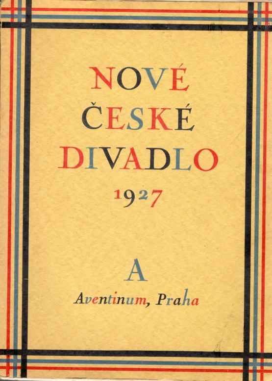 Nové české divadlo 1927, Sborník dramatického svazu