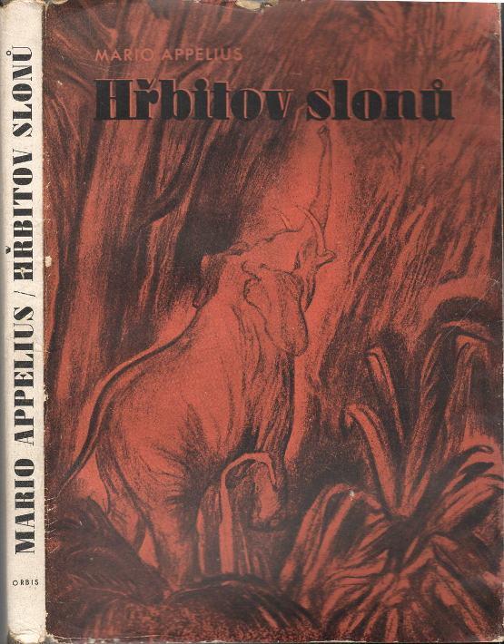 Hřbitov slonů, román (podpis)