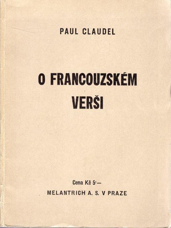 O francouzském verši
