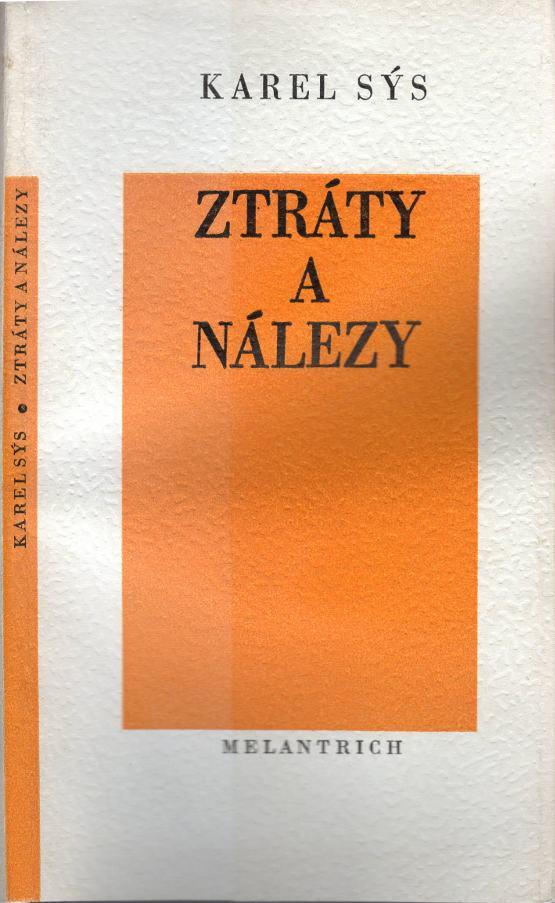 Ztráty a nálezy, Z intimní lyriky (1985)