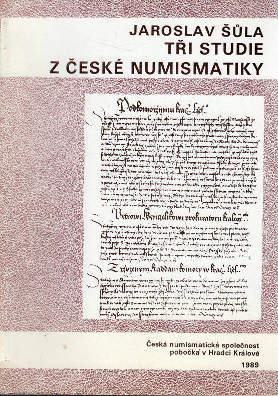 Tři studie z české numismatiky