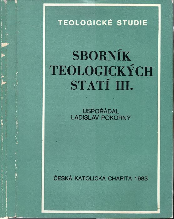 Sborník teologických statí III.