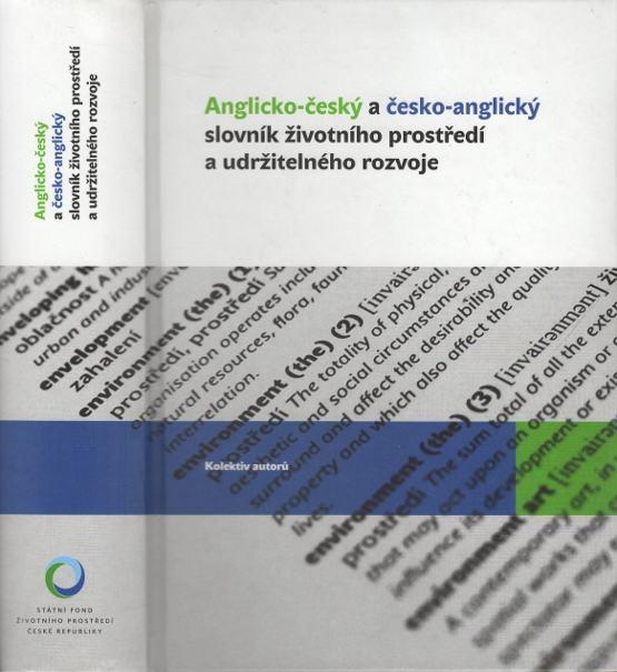 Anglicko-český a česko-anglický slovník životního prostředí a udržitelného rozvoje