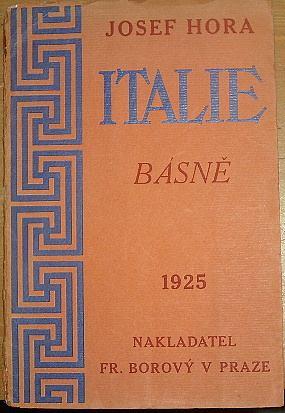 Italie, básně